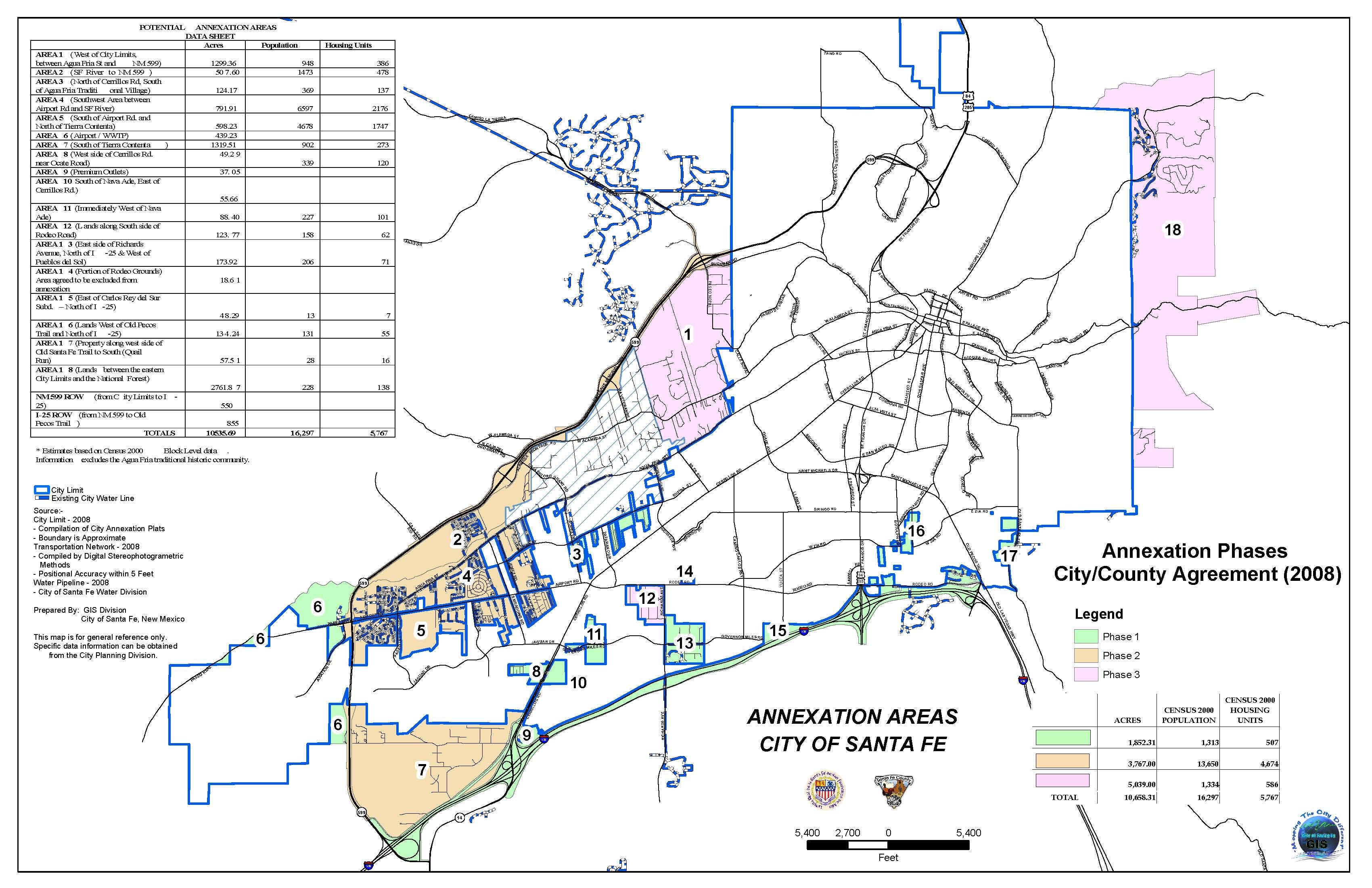 City Annexation Map