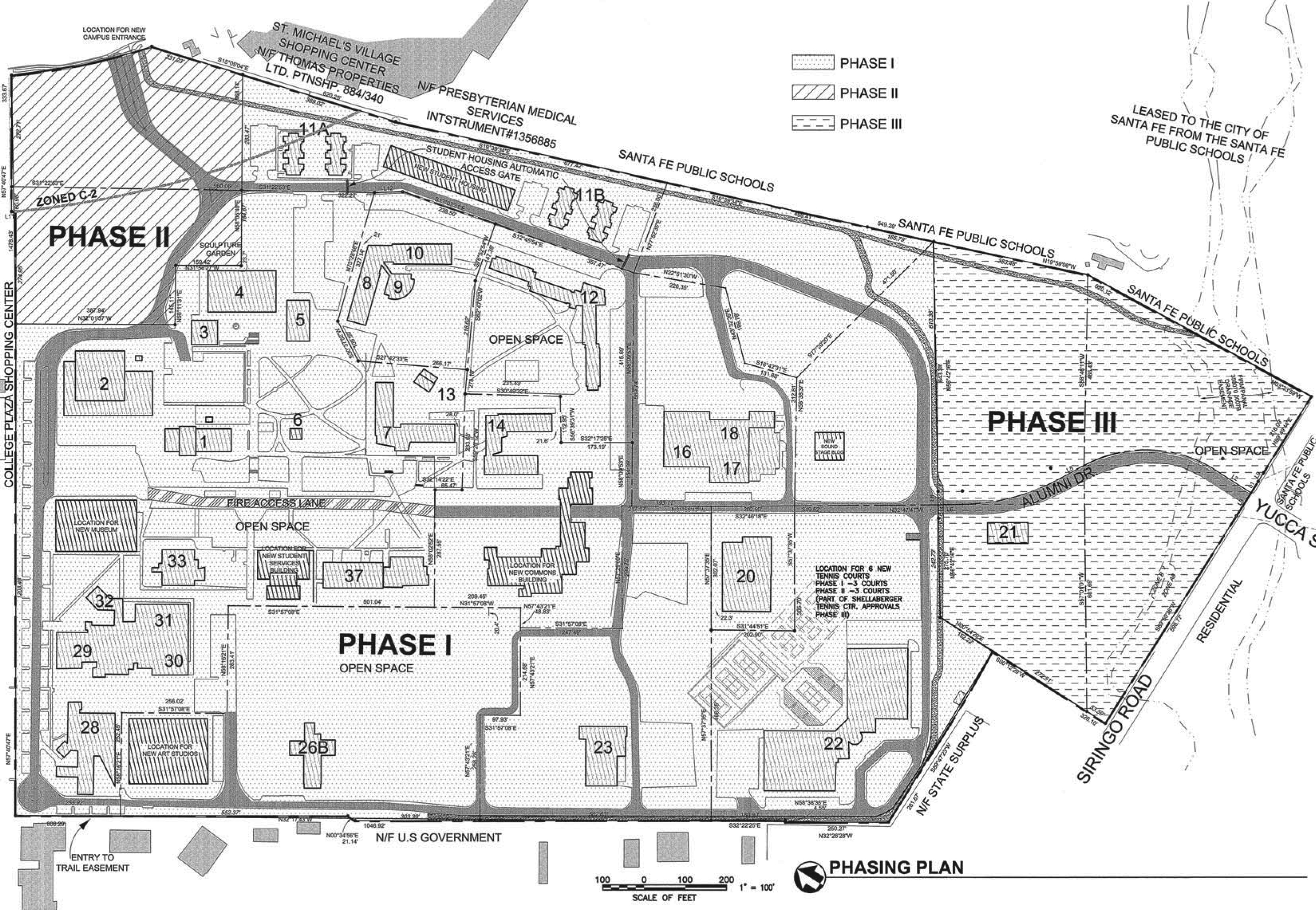 College of Santa Fe Plans for City.pdf